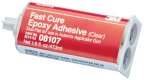 Automix™ Fast Cure Epoxy Adhesive 08107, 2 oz pack