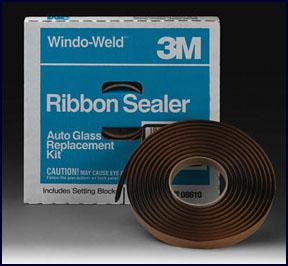 "Window-Weld™ Round Ribbon Sealer 08612, 3/8"" x 15' Kit at National Tool Warehouse"