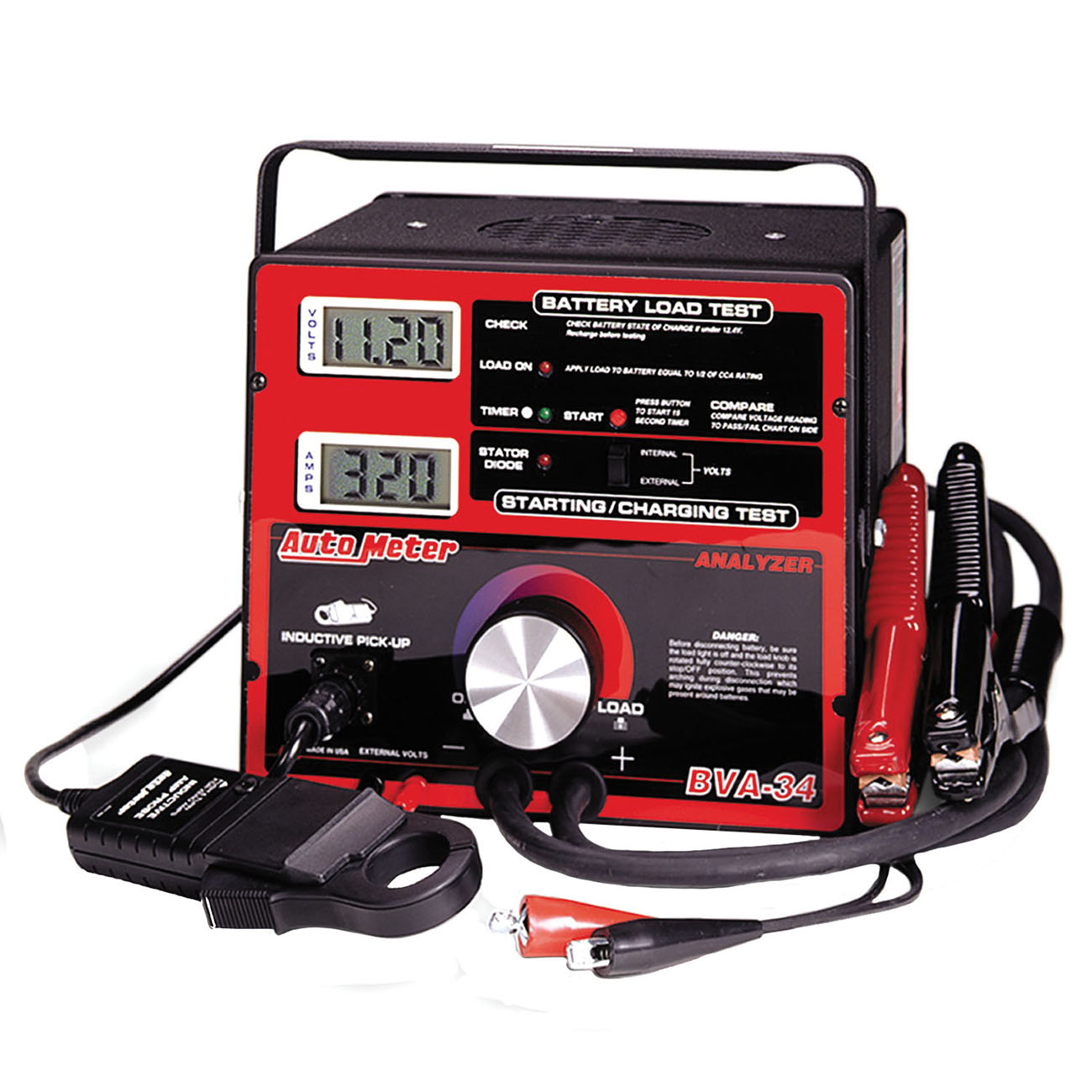 Auto Battery Tester Product : Bva amp variable load battery electrical system