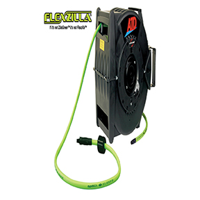 Levelwind™ Retractable Air Hose Reel with Flexzilla® Hose  sc 1 st  National Tool Warehouse & Levelwind™ Retractable Air Hose Reel with Flexzilla® Hose at ...