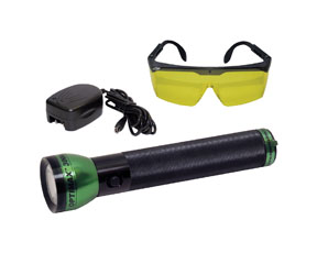 OPTIMAX™ 3000 Cordless, Rechargeable Blue Light LED Leak Detection  Flashlight