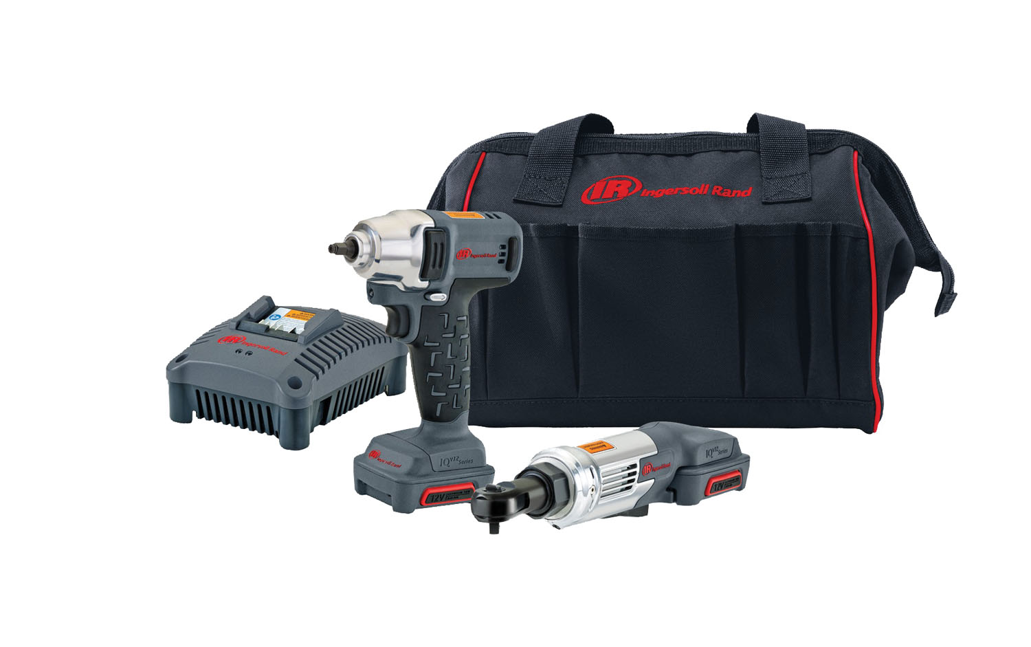 12v Cordless Impact Wrench And Ratchet Combo Kit Ingersoll Rand Irciqv12 202