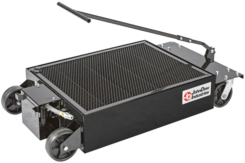 25 Gallon Low Profile Portable Oil Drain With Electric