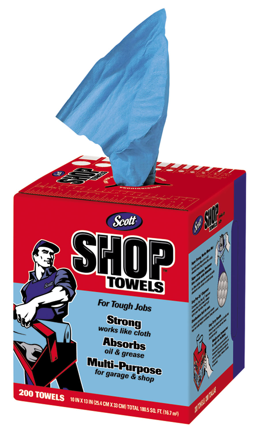 Bogo Car Deals >> Absorbent Blue Shop Towels in a Box for Home or Work at National Tool Warehouse
