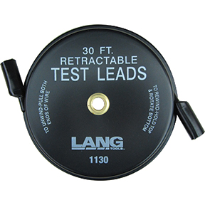 Retractable Test Leads - 30 ft. at National Tool Warehouse