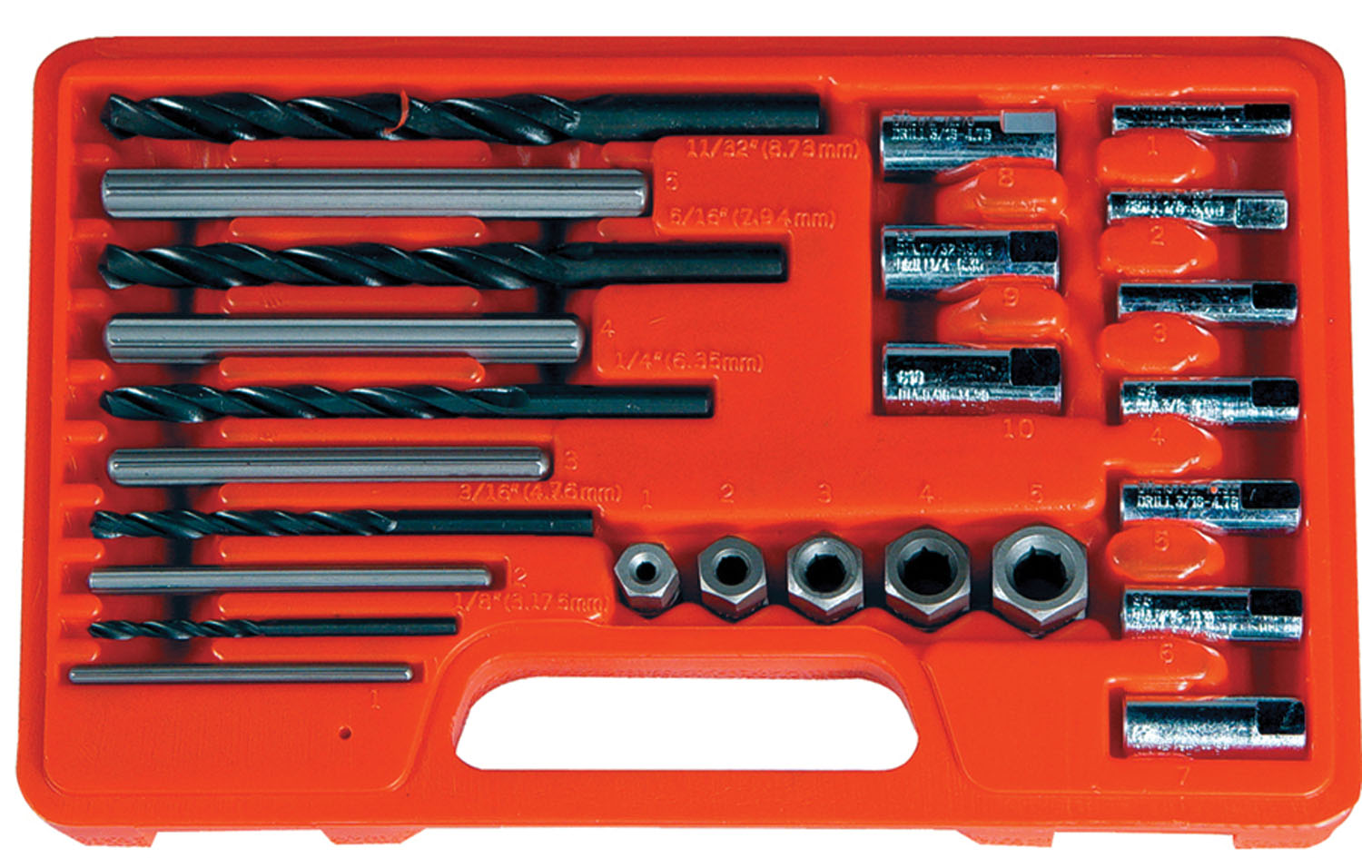 Astro Pneumatic 25 Pc. Screw Extractor/Drill & Guide Set at Sears.com