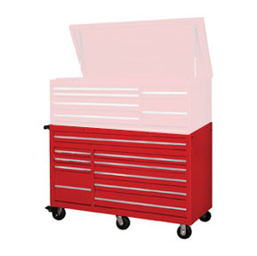56 Quot 10 Drawer Cabinet Red At National Tool Warehouse